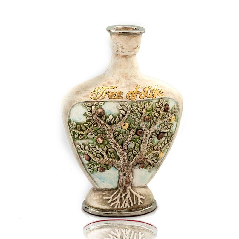 Ceramic Vase Handmade Tree Of Life Pottery Art