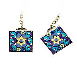 Fashion Jewelry Talith Clips - Star of David