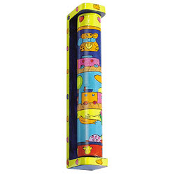 Wooden Rotating Mezuzah - Children