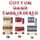 Cotton Hand-Embroidered Tallit
